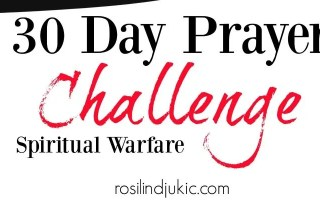 30 Days of Prayer – Spiritual Warfare + A Little R & R Wednesdays – a linky party #156