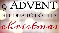9 Advent Studies To Do This Christmas