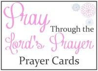 Prayer Cards for Your Pocket – Free Printable