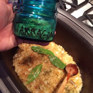 A couple of healthy pinches of tarragon should do it.