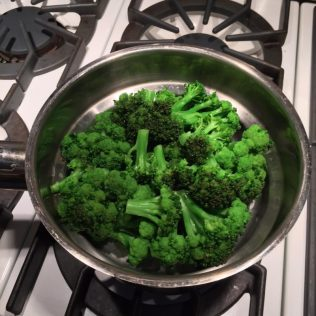 Garden-Fresh Broccoli, fresh out of the steamer!