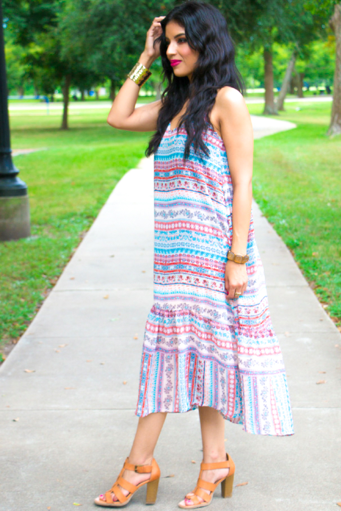 Casual Summer Dress + Pattern Review - Rosy | Peña