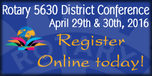 District Conference Registration