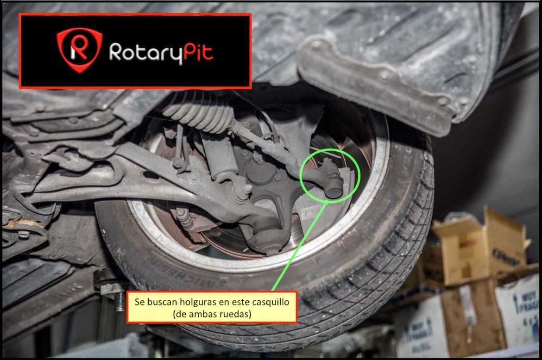 ITV casquillos dirección RX8 jird20 RotaryPit