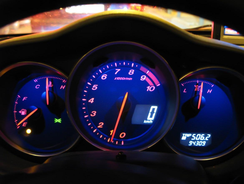 luz reserva combustible gasolina RX8 RotaryPit