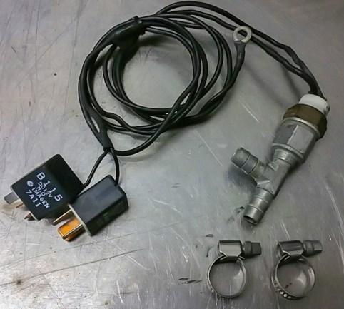 Kit control entrada temprana electroventiladores RX8