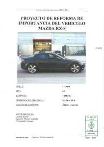 Memoria Proyecto reforma Mazda RX8 RotaryPit