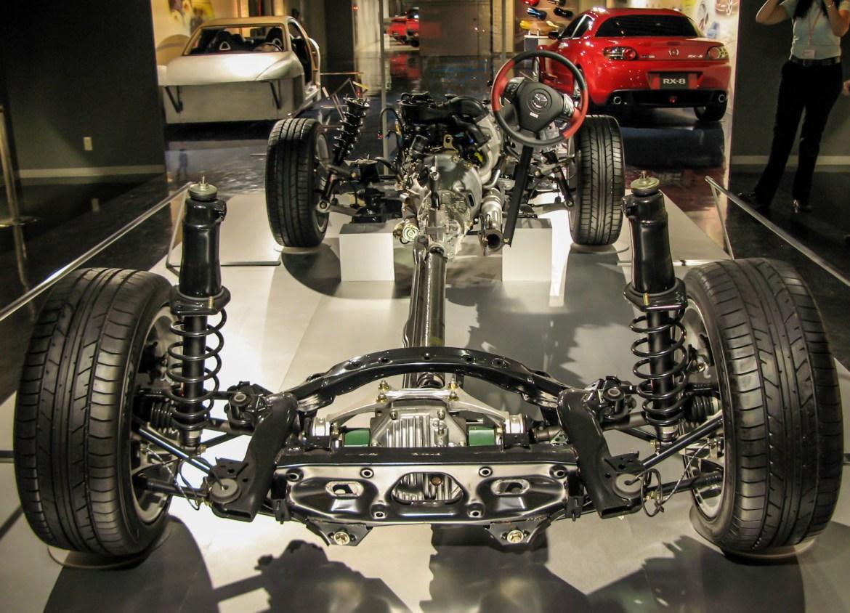 transmisión potencia ruedas motrices RX8 RotaryPit