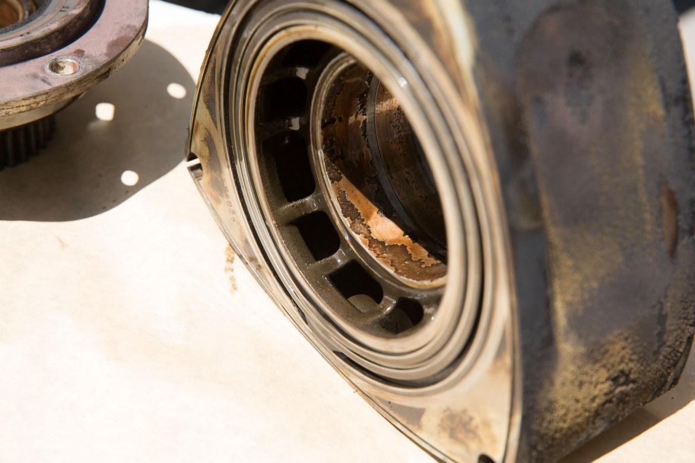Cojinete rotor destruído renesis RX8 RotaryPit