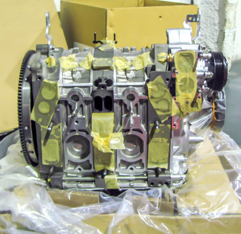 Reconstrucción Rebuild Renesis bloque motor nuevo RX8 RX7 jird20 RotaryPit