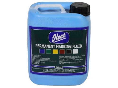 Fleet Permanent Marking Fluid Blue