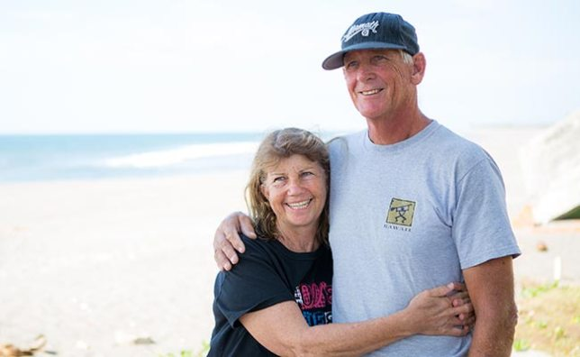 Pam and Alan (from GYG website)