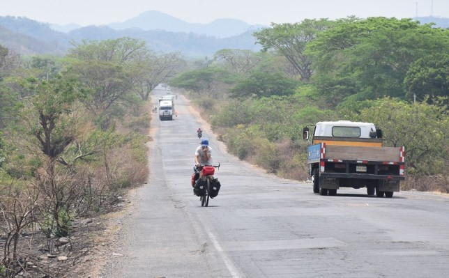 Honduras patchwork road