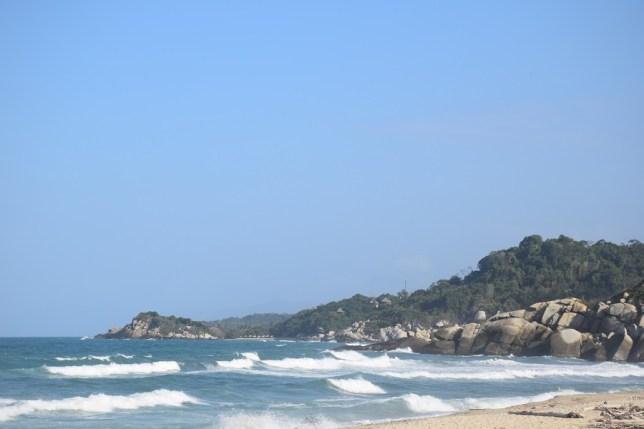 Beach in Tayrona