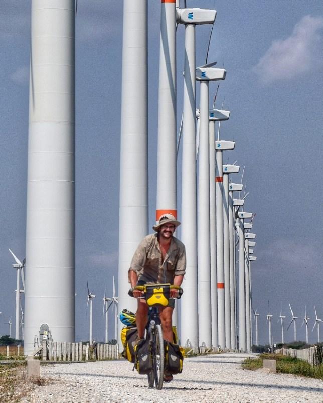 Oaxaca wind farm