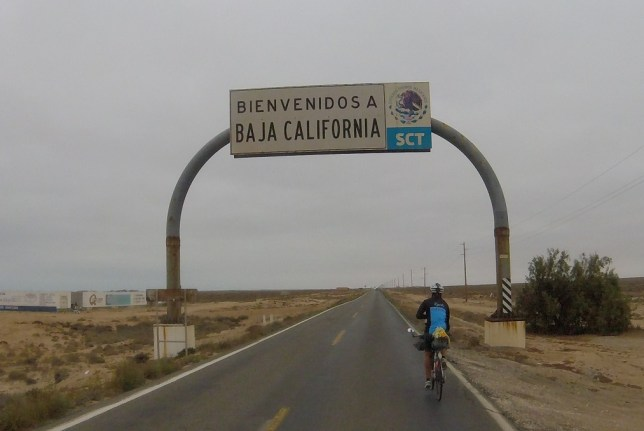 Tonguy entering Baja California