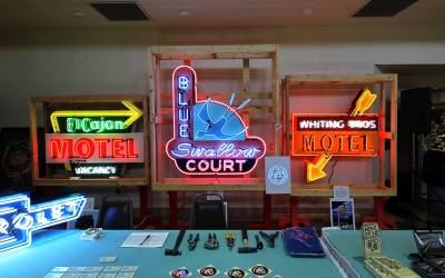 Looking for donations for neon sign park