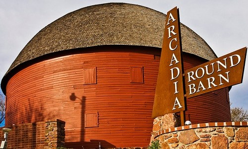 A closer look at the Round Barn