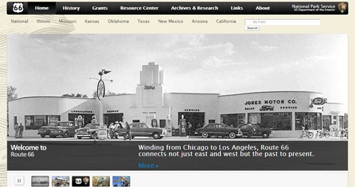 Route 66 Corridor Preservation Program launches new, improved website