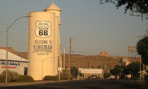 The story behind Kingman's water tanks