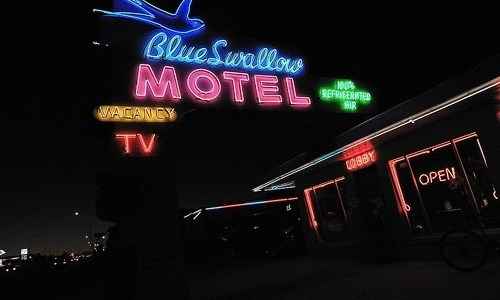Former co-owner of Blue Swallow Motel dies