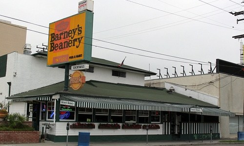 Hotel plan may endanger original Barney's Beanery