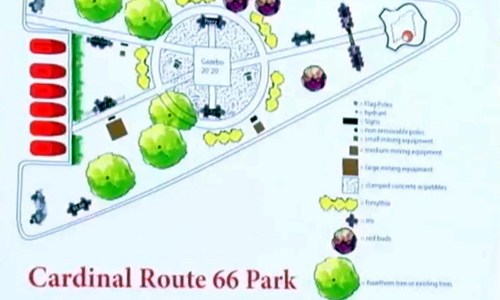 Ground broken for Cardinal Route 66 Memorial Park
