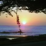 Sunset Moonstone Beach Cambria California
