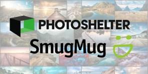compare photoshelter and smugmug pro portfolio websites for photographers