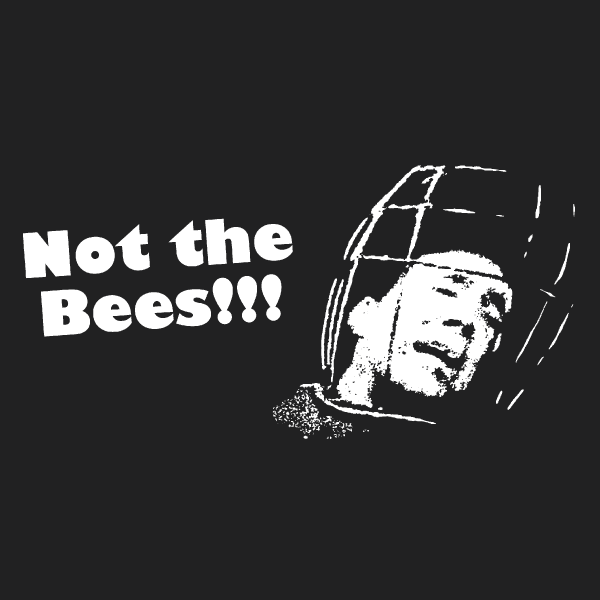Wicker Man - Not The Bees! T-Shirt - Nicolas Cage