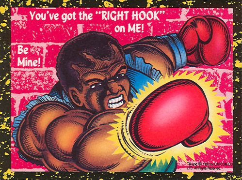 Balrog - Street Fighter 2 Valentine's Day Cards
