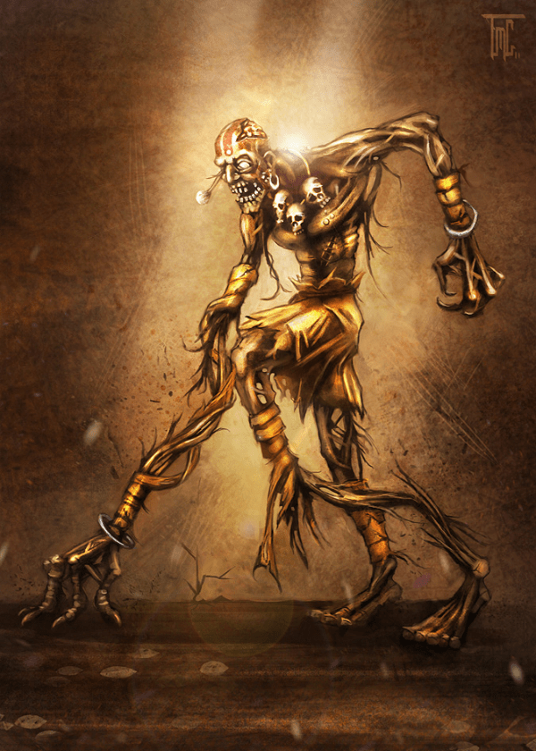 zombie street fighter dhalsim