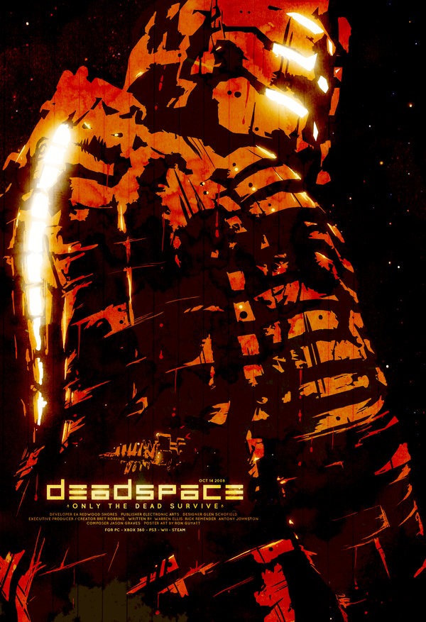 Dead Space Poster by Ron Guyatt