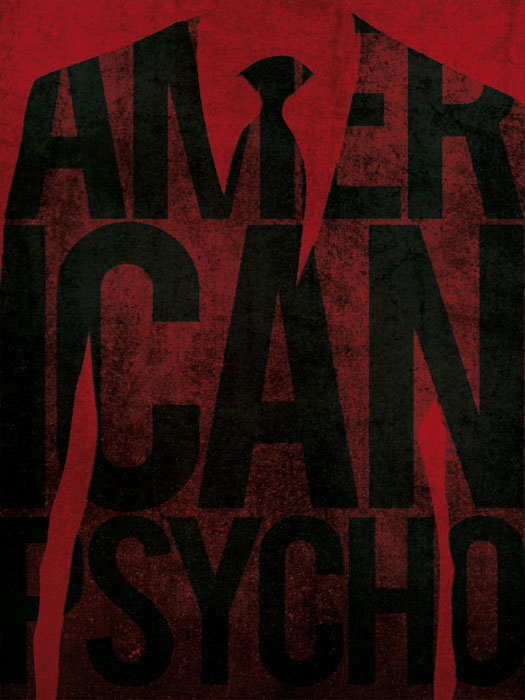 American Psycho Poster by Guillaume Vasseur
