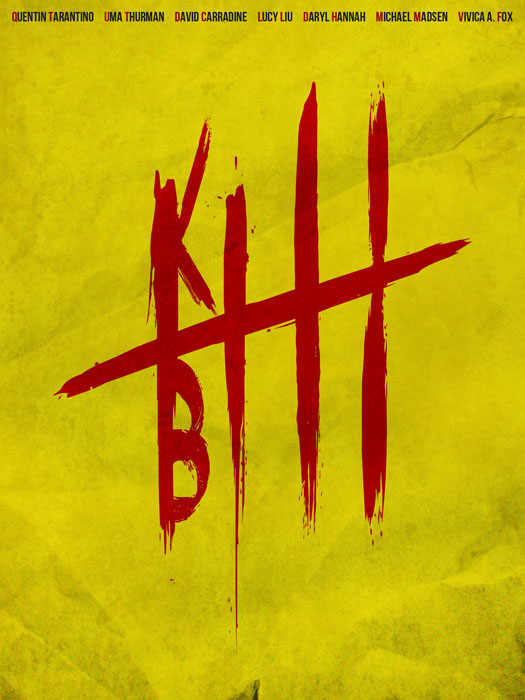 Kill Bill Poster by Guillaume Vasseur
