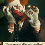 Schlitz Beer Clown