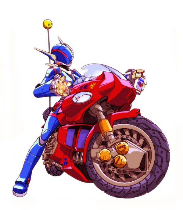 Bubblegum Crisis: Priss by Mark Brooks - Anime