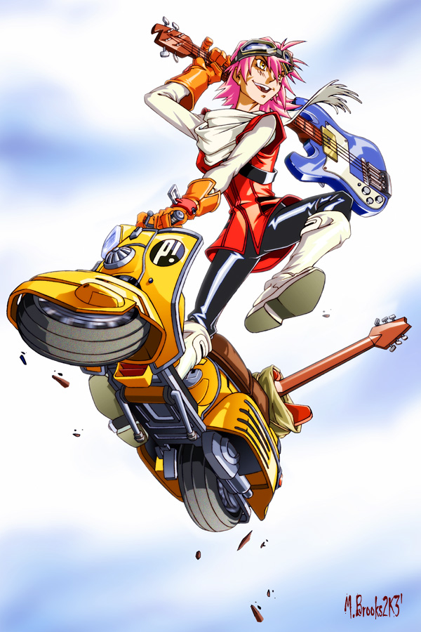 Fooly Cooly by Mark Brooks - FLCL Anime