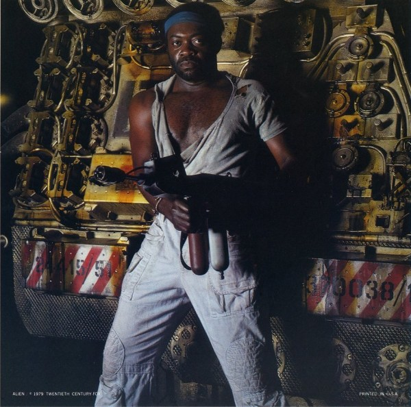 Alien - Yaphet Kotto as Parker