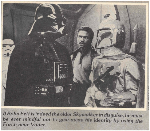 Boba Fett is Anakin - Fantastic Films Dec 1980