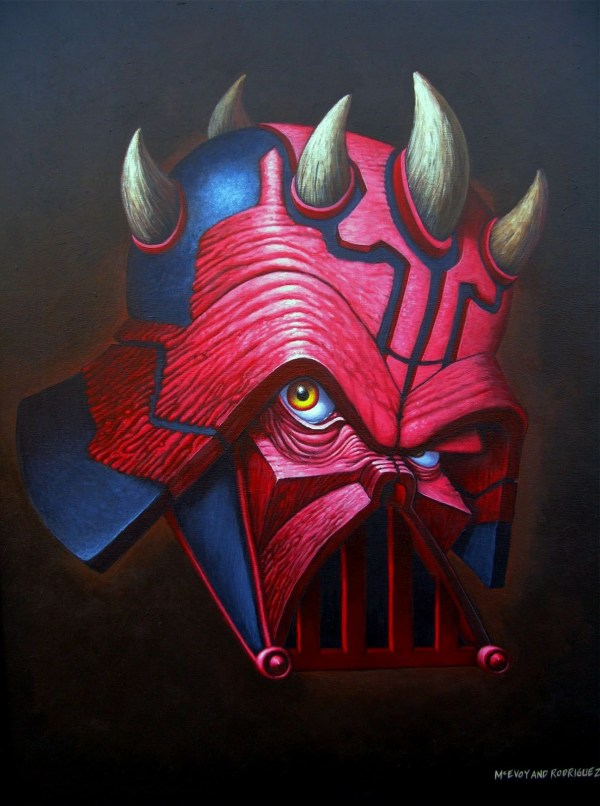 Darth Vader x Darth Maul Hybrid by McEvoy and Rodriguez