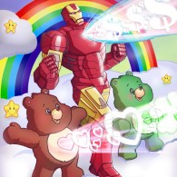 Iron Man x Care Bears by Marco D'Alfonso