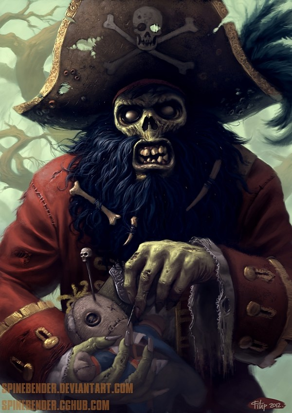 LeChuck by Filip Acovic - Monkey Island Fan Art