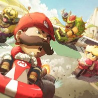 Mario Kart: Wheels of Fury by theCHAMBA and Ry-Spirit