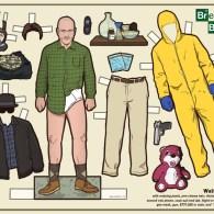 Jesse Pinkman paper doll