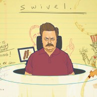 Ron Swanson by Phil Noto
