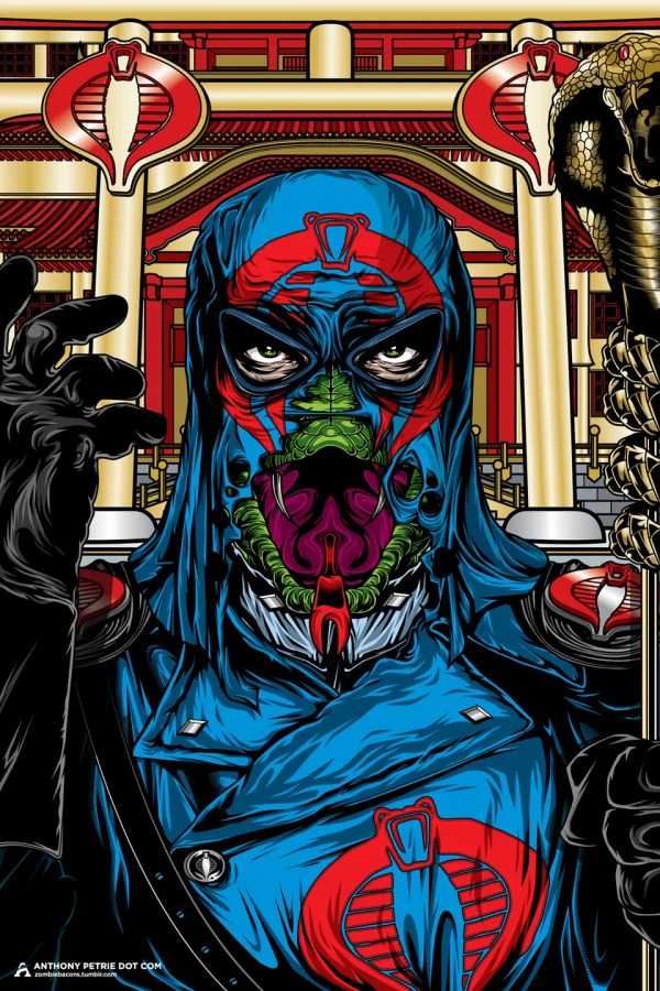 The True Face of Evil - Cobra Commander