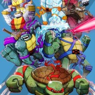 x-men x tmnt by marco d'alfonso