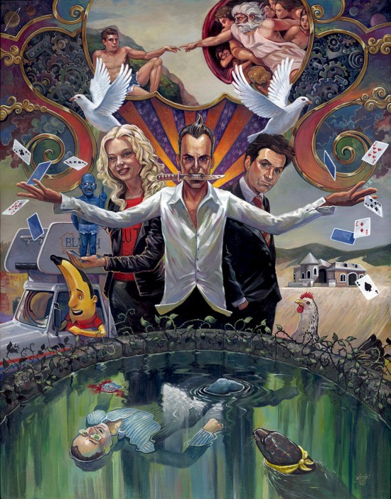Arrested Development: It Is All Illusion by Aaron Jasinski - fan art