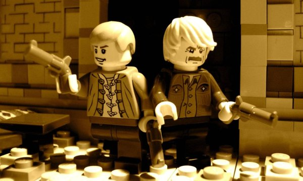 LEGO Butch Cassidy and the Sundance Kid